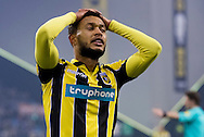 ARNHEM, Vitesse - Willem II, voetbal, Eredivisie, seizoen 2016-2017, 11-02-2017, Stadion De Gelredome, Vitesse speler Lewis Baker baalt na een gemiste kans.