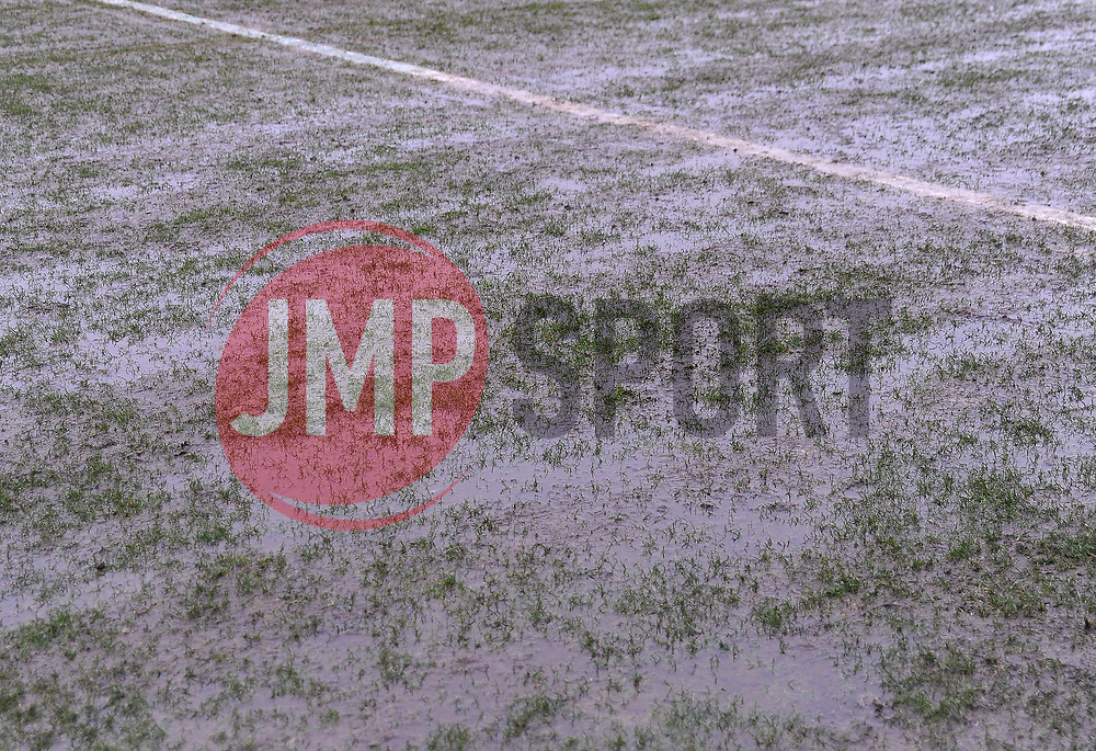 The match between Newport County v Forest Green Rovers is called off due to a water logged pitch - Mandatory by-line: Nizaam Jones/JMP- 10/02/2018 - FOOTBALL - Rodney Parade - Newport, Wales- Newport County v Forest Green Rovers - Sky Bet League Two
