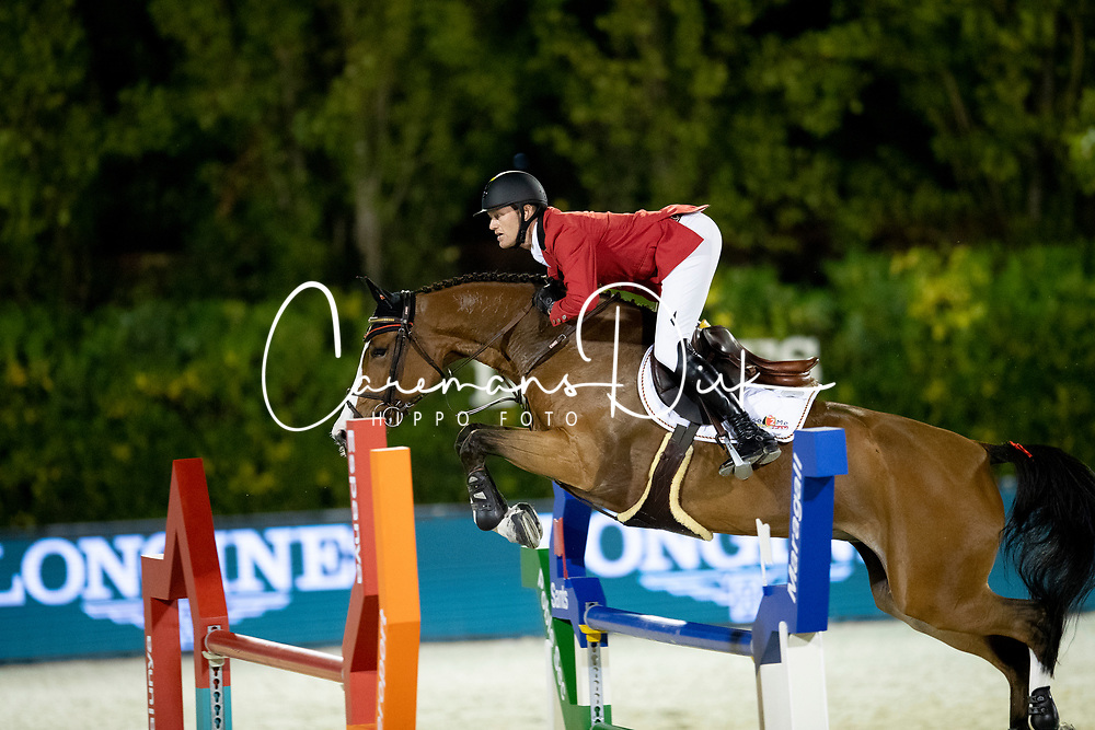 Bruynseels Niels, BEL, Gancia de Muze<br /> Longines FEI Jumping Nations Cup™ Final<br /> Barcelona 20128<br /> © Hippo Foto - Dirk Caremans<br /> 05/10/2018