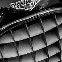 1979 Panther Lima Mark II Turbo grill detail black and white