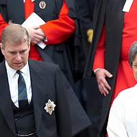 Edinburgh St Giles Cathedral 20th May 2007 HRH The Duke of York Attends Sunday Service at St Giles Cathedral in quality of Lord Commissioner to the General Assembly of the Church of Scotland inspect the Boys' Brigade.