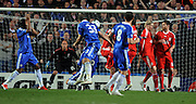 Alex scores the second goal for Chelsea during the UEFA Champions League Quarter Final Second Leg match between Chelsea and Liverpool at Stamford Bridge on April 14, 2009 in London, England.