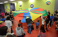 WARRINGTON, PA. - JANUARY 24: during an open house at The Little Gym January 24, 2015 in Warrington, Pennsylvania. New York Life created Child Fingerprint ID cards for all in attendance. The Child ID's include a child's photo, digitally-scanned fingerprints, and emergency contact information. (Photo by William Thomas Cain/Cain Images)