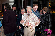 DES RAYNER, Massimo's restaurant at the Corinthia Hotel, Whitehall  host the after party  for 'Claire Rayner's benefit show' 5 June 2011. <br /> <br />  , -DO NOT ARCHIVE-© Copyright Photograph by Dafydd Jones. 248 Clapham Rd. London SW9 0PZ. Tel 0207 820 0771. www.dafjones.com.