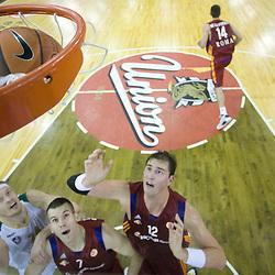 20081106: Basketball - Euroleague, KK Union Olimpija vs Lottomatica Roma