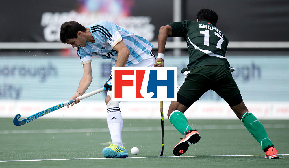 BREDA - Rabobank Hockey Champions Trophy<br /> Argentina - Pakistan<br /> Photo: REY Matias.<br /> COPYRIGHT WORLDSPORTPICS FRANK UIJLENBROEK