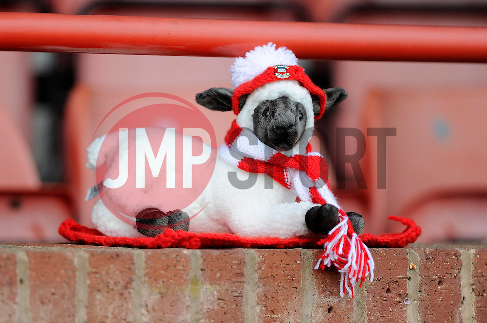 The Lambs - Photo mandatory by-line: Dougie Allward/JMP - Tel: Mobile: 07966 386802 08/12/2013 - SPORT - Football - Tamworth - The Lamb Ground - Tamworth v Bristol City - FA Cup - Second Round