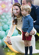 Princess Charlotte, Prince George With Kate & William At Party3