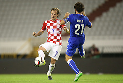 12.06.2015, Stadion Poljud, Split, CRO, UEFA Euro 2016 Qualifikation, Kroatien vs Italien, Gruppe H, im Bild Ivan Rakitic // during the UEFA EURO 2016 qualifier group H match between Croatia and and Italy at the Stadion Poljud in Split, Croatia on 2015/06/12. EXPA Pictures © 2015, PhotoCredit: EXPA/ Pixsell/ Igor Kralj<br /> <br /> *****ATTENTION - for AUT, SLO, SUI, SWE, ITA, FRA only*****