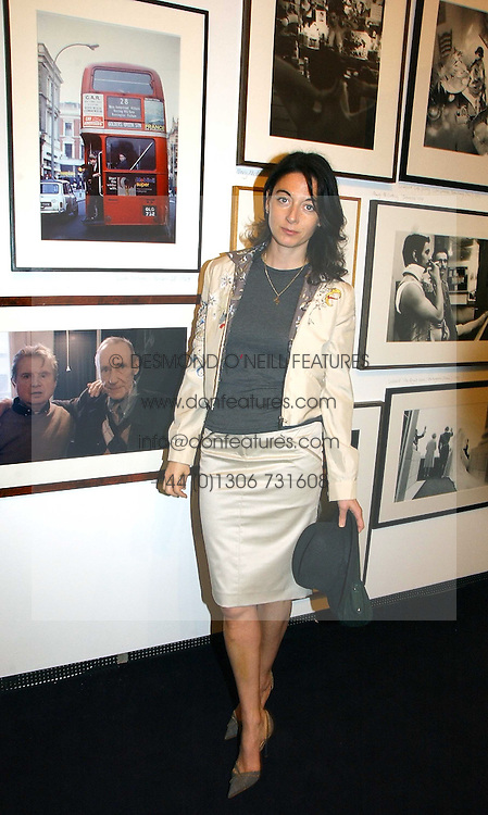 MARY McCARTNEY at a party to celebrate the opening of Photo-London 2006 at Burlington Gardens, London W1 on 17th May 2006.<br />