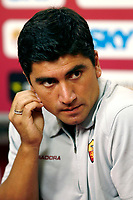 Fotball<br /> Foto: Inside/Digitalsport<br /> NORWAY ONLY<br /> <br /> Roma 24/8/2006 <br /> As Roma new player David Pizarro during a press conference.