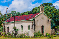 Church, Tadine, island of Mare, Loyalty Islands, New Caledonia