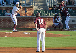 Mississippi State vs. Texas A&M in an NCAA college baseball game, Friday, May 05, 2017, in College Station, Texas.