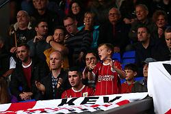 Bristol City fans at Ipswich Town - Mandatory by-line: Robbie Stephenson/JMP - 30/09/2017 - FOOTBALL - Portman Road - Ipswich, England - Ipswich Town v Bristol City - Sky Bet Championship