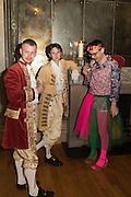 RHYS JONES; CAVAN MCCARTHY; FRED MACPHERSON, Bella Howard 30th birthday, Castle Howard, Dress code: Flower Fairies and Prince Charming, 3 September 2016