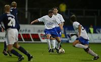 Fotball, 3. oktober 2002. Stavanger Stadion,  Viking - Chelsea. Emmanuel Petit, Chelsea.