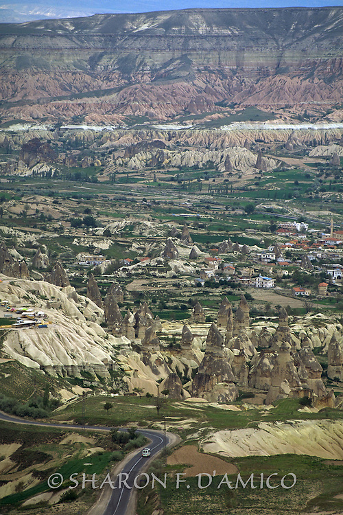 Traveling the Land of Fairy Chimneys (Tufa and Other Rock Formations), Cappadocia, Turkey