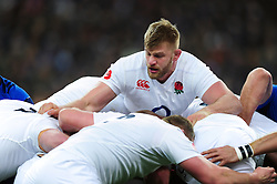 George Kruis of England in action at a maul - Mandatory byline: Patrick Khachfe/JMP - 07966 386802 - 19/03/2016 - RUGBY UNION - Stade de France - Paris, France - France v England - RBS Six Nations.