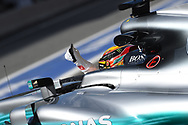 Lewis Hamilton of Mercedes AMG Petronas during the practice session of the Spanish Formula One Grand Prix at Circuit de Catalunya, Barcelona, Spain.<br /> Picture by EXPA Pictures/Focus Images Ltd 07814482222<br /> 12/05/2017<br /> *** UK &amp; IRELAND ONLY ***<br /> <br /> EXPA-EIB-170512-0146.jpg