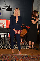CAROLINE STANBURY at a party to celebrate the 1st anniversary of Hello! Fashion Monthly magazine held at Charlie, 15 Berkeley Street, London on 14th October 2015.