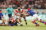 Hendrik TUI (JPN) during the Japan 2019 Rugby World Cup Pool A match between Japan and Russia at the Tokyo Stadium in Tokyo on September 20, 2019.