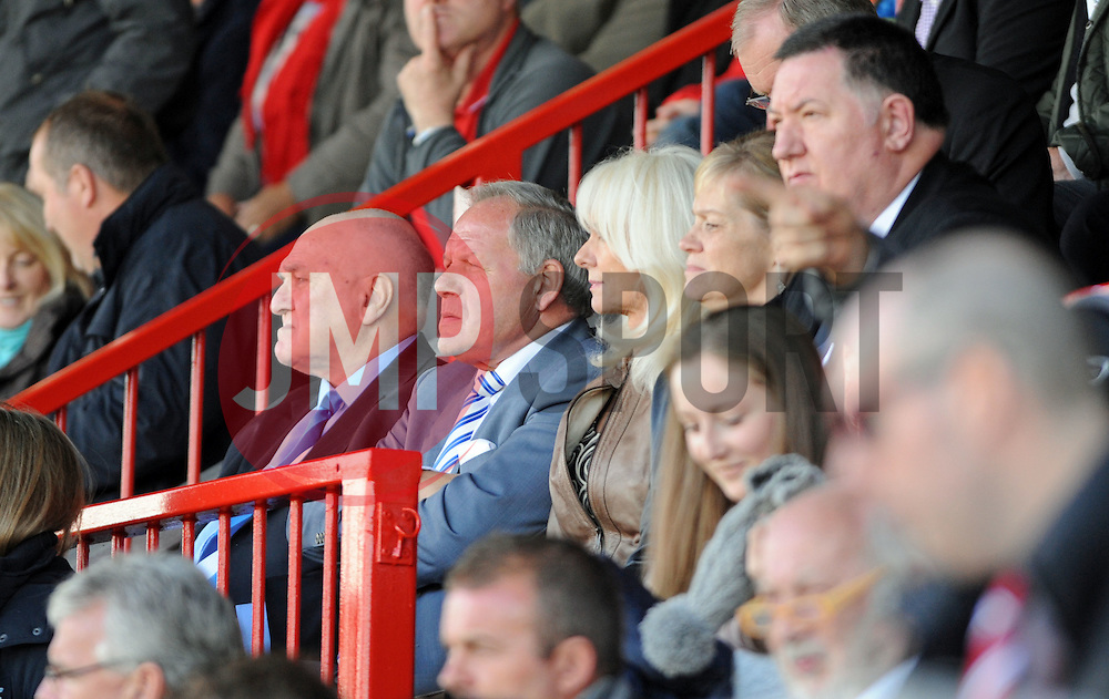 Peterborough United Chairman Barry Fry - photo mandatory by-line David Purday JMP- Tel: Mobile 07966 386802 - 11/10/14 - Crawley Town v Peterbourgh United - SPORT - FOOTBALL - Sky Bet Leauge 1  - London - Checkatrade.com Stadium