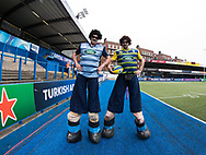 A general view of Cardiff Arms Park, home of Cardiff Blues match day entertainment<br /> <br /> Photographer Simon King/Replay Images<br /> <br /> European Rugby Challenge Cup - Semi Final - Cardiff Blues v Pau - Saturday 21st April 2018 - Cardiff Arms Park - Cardiff<br /> <br /> World Copyright &copy; Replay Images . All rights reserved. info@replayimages.co.uk - http://replayimages.co.uk