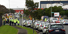 Auckland-One dead after explosion at recycling plant, Wiri
