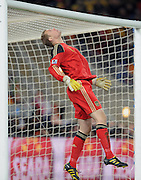 Manuel NEUER (Deutschland) during the 2010 FIFA World Cup South Africa Group D match between Ghana and Germany at Soccer City Stadium on June 23, 2010 in Johannesburg, South Africa.