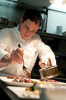 Cafe Boulud, Chef Gavin Kaysen, in NY