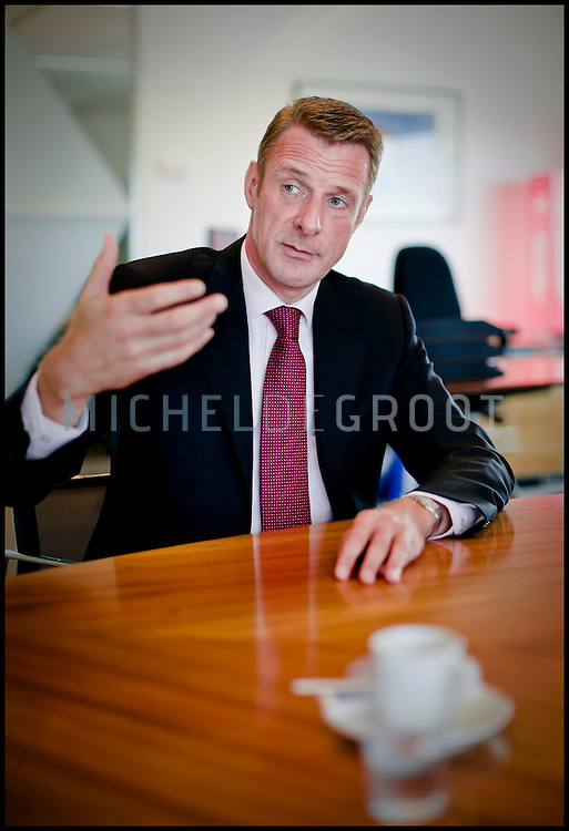 Niek-Jan van Damme, CEO van T-Mobile in Den Haag, The Netherlands on 11 September, 2008. (photo by Michel de Groot)