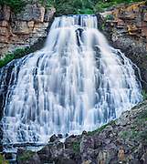 Rustic Falls in Yellowstone National Park
