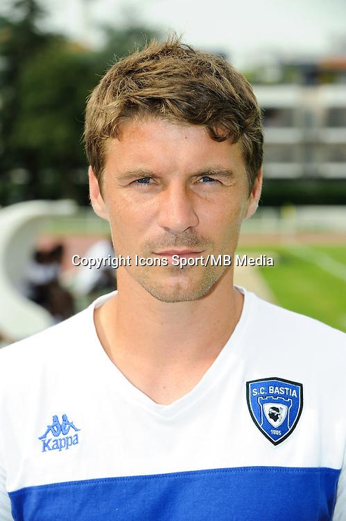 Yannick CAHUZAC - 19.07.2014 - Bastia / Evian Thonon - Match Amical<br /> Photo : Jean Paul Thomas / Icon Sport