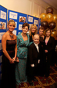 Alex Best, Cherie Blair, Gaby Roslin and Freddie Vardagan, Chocolate Ball in aid of the Sargent Care for Children. , Cafe Royal. 11 March 2004. ONE TIME USE ONLY - DO NOT ARCHIVE  © Copyright Photograph by Dafydd Jones 66 Stockwell Park Rd. London SW9 0DA Tel 020 7733 0108 www.dafjones.com