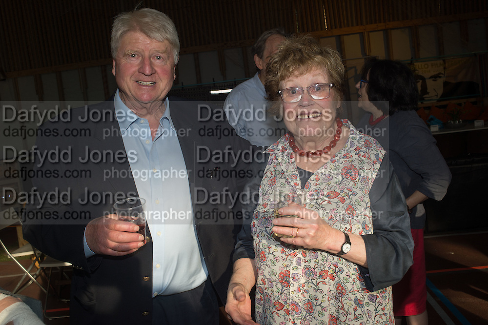 STANLEY JOHNSON; CHARLOTTE JOHNSON WAHL, Rachel Johnson book launch of Fresh Hell, Acklam Village Market, Acklam Rd. London W10.