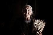 Antonietta Anselmi, contadina Troiana. Troia 29 Maggio 2014.  Christian Mantuano / OneShot