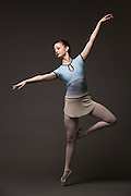 Anna Kroeker poses for a portrait during a photo shoot at Bay Pointe Ballet in South San Francisco, California, on March 11, 2016. (Stan Olszewski/SOSKIphoto)
