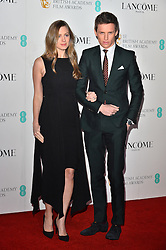 © Licensed to London News Pictures. 13/02/2016. Guests including POPPY JAMIE, PENELOPE CRUZ, DAKOTA JOHNSON, EDDIE REDMAYNE, IDRIS ELBA, JOHN BOYEGA, JULIE WALTERS, KATE WINSLET, TARON EGERTON, MICHAEL FASSBENDER attend the BAFTA Lancôme Nominees' Party held at Kensington Palace. London, UK. Photo credit: Ray Tang/LNP