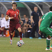 Fábio Coentrão, Portugal, in action during the Portugal V Ireland International Friendly match in preparation for the 2014 FIFA World Cup in Brazil. MetLife Stadium, Rutherford, New Jersey, USA. 10th June 2014. Photo Tim Clayton