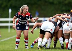 Sian Moore of Bristol Ladies - Mandatory by-line: Robbie Stephenson/JMP - 18/09/2016 - RUGBY - Cleve RFC - Bristol, England - Bristol Ladies Rugby v Aylesford Bulls Ladies - RFU Women's Premiership