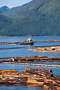 Lumber Mill, Gold River, Vancouver Island, British Columbia, Canada