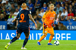 Kasper Schmeichel of Leicester City - Mandatory by-line: Robbie Stephenson/JMP - 01/08/2018 - FOOTBALL - King Power Stadium - Leicester, England - Leicester City v Valencia - Pre-season friendly