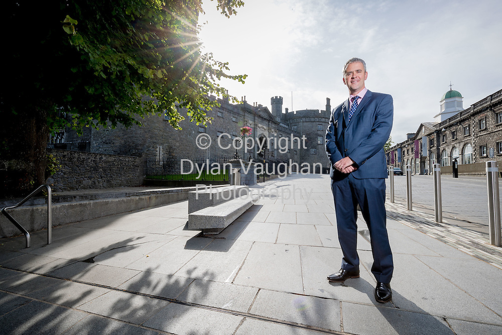6-7-16<br /> <br /> Cathal Smyth Managing Director, Chief Administrative Officer, State Street Global Services Ireland pictured at Kilkenny Castle in Kilkenny.<br /> Picture Dylan Vaughan
