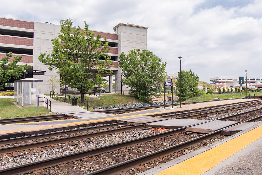 Exterior photo of Metro Annapolis Junction in Maryland by Jeffrey Sauers of Commercial Photographics, Architectural Photo Artistry in Washington DC, Virginia to Florida and PA to New England