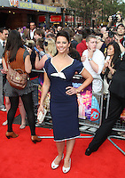 Belinda Stewart-Wilson The Inbetweeners Movie world premiere, Vue Cinema, Leicester Square, London, UK, 16 August 2011:  Contact: Rich@Piqtured.com +44(0)7941 079620 (Picture by Richard Goldschmidt)