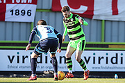 Forest Green Rovers Alex Bray(31) during the EFL Sky Bet League 2 match between Forest Green Rovers and Crawley Town at the New Lawn, Forest Green, United Kingdom on 24 February 2018. Picture by Shane Healey.