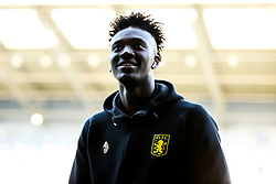 Tammy Abraham of Aston Villa looks on as Villa arrive - Rogan/JMP - 14/05/2019 - The Hawthornes - West Bromwich, England - West Bromwich Albion v Aston Villa - Sky Bet Championship Play-Off Semi Final Leg 2.