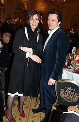 LUKE & ALICE IRWIN at a dinner in aid of the BAAF (British Association for Adoption & Fostering) held at The Savoy, London on 22nd March 2005.<br />