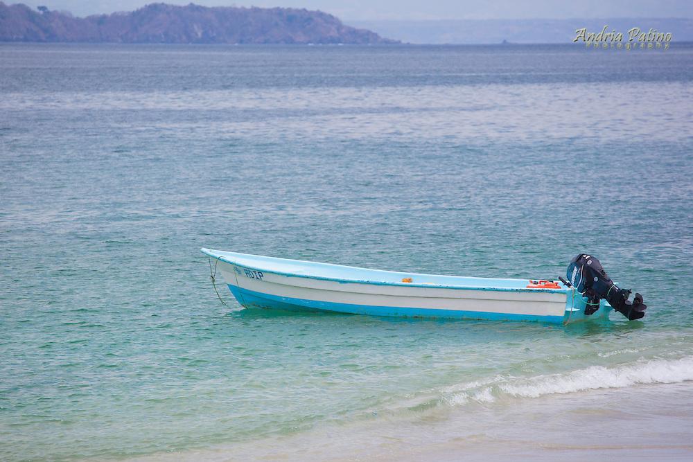 Boats off the cost of Tortuga Island, Nicoya gulf, Costa Rica