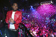 LAS VEGAS, NV - MAY 25:  Singer Jason Derulo looks over the crowd before performing at The Bank Nightclub at the Bellagio on May 25, 2012 in Las Vegas, Nevada.  (Photo by Jeff Bottari/WireImage)